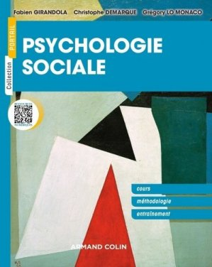 Psychologie sociale - armand colin - 9782200620387