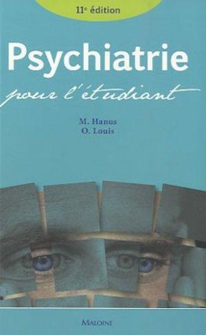 Psychiatrie pour l'étudiant - maloine - 9782224031183 -