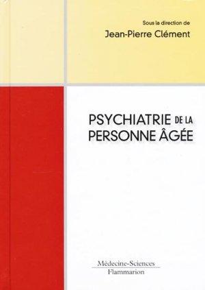 Psychiatrie de la personne âgée - lavoisier msp - 9782257000781 -