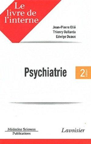 Psychiatrie - lavoisier msp - 9782257205018 -