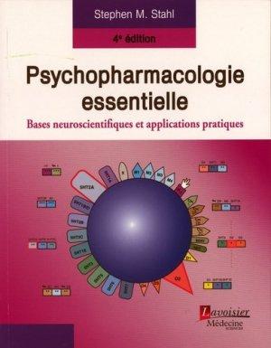 Psychopharmacologie essentielle - lavoisier msp - 9782257205544 -