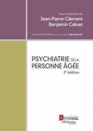 Psychiatrie de la personne âgée - lavoisier msp - 9782257206305