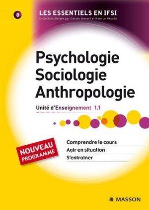 Psychologie Sociologie Anthropologie - elsevier / masson - 9782294710575 -