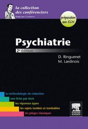 Psychiatrie - elsevier / masson - 9782294712487 -