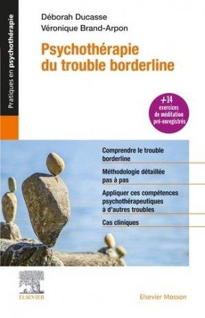 Psychothérapie du trouble borderline - elsevier / masson - 9782294762413