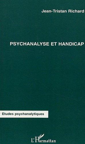 Psychanalyse et handicap - l'harmattan - 9782296009868 -