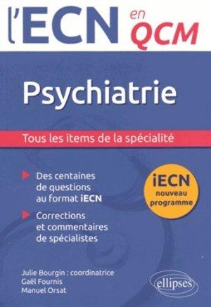 Psychiatrie - ellipses - 9782340004764 -
