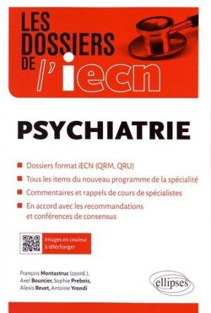 Psychiatrie - ellipses - 9782340016552 -