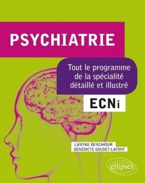 Psychiatrie ECNi - ellipses - 9782340030046 -