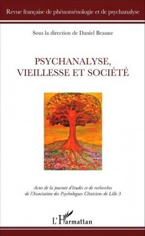 Psychanalyse, vieillesse et société - l'harmattan - 9782343090290 -