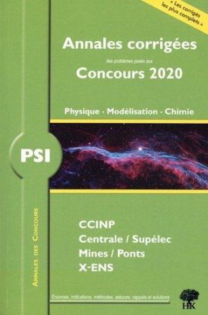 PSI physique, modélisation et chimie - HandK - 9782351413760 -
