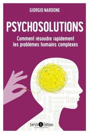 Psychosolutions - enrick b - 9782356443717 -