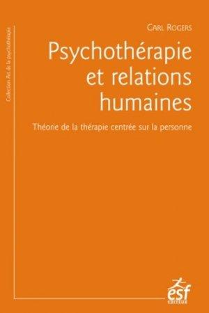 Psychothérapie et relations humaines - esf - 9782710131397 -