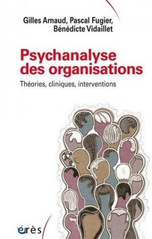 Psychanalyse des organisations - eres - 9782749257525 -