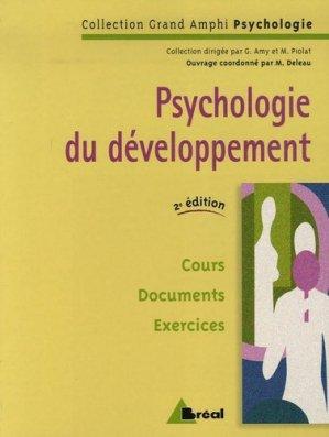 Psychologie du développement - breal - 9782749506357 -