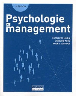 Psychologie et management - cheneliere / ccmd - 9782765036227 -