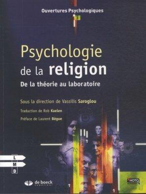 Psychologie de la religion - de boeck superieur - 9782807300156 - https://fr.calameo.com/read/000015856c4be971dc1b8