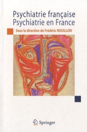 Psychiatrie française, psychiatrie en France - springer verlag - 9782817802985 -