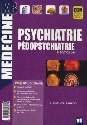 Psychiatrie - Pédopsychiatrie - vernazobres grego - 9782818302606 -