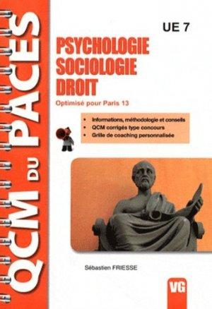 Psychologie - Sociologie - Droit (Paris 13) - vernazobres grego - 9782818304181 - rechargment cartouche, rechargement balistique
