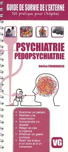 Psychiatrie pédopsychiatrie - vernazobres grego - 9782818305591 -