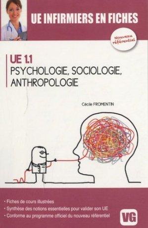 Psychologie, Sociologie, Anthropologie - vernazobres grego - 9782818306031 -