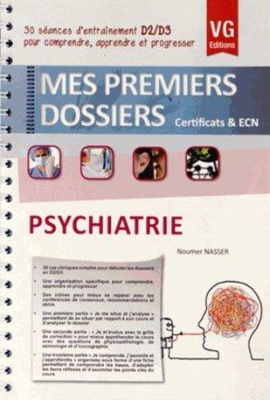 Psychiatrie - vernazobres grego - 9782818307649 -