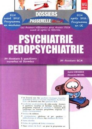 Psychiatrie Pédopsychiatrie - vernazobres grego - 9782818312131 -