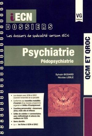 Psychiatrie Pédopsychiatrie - vernazobres grego - 9782818314340 -