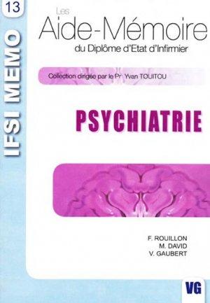 Psychiatrie - vernazobres grego - 9782841367948 -