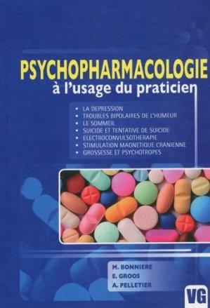 Psychopharmacologie à l'usage du praticien - vernazobres grego - 9782841369102 -