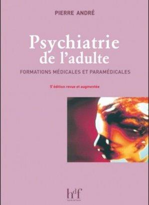 Psychiatrie de l'adulte - heures de france - 9782853853262 -