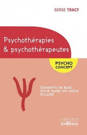 Psychothérapies et psychothérapeutes - jouvence - 9782889118090 -