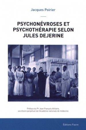 Psychonévroses et psychothérapie selon Jules Dejerine - fiacre - 9782917231753 -