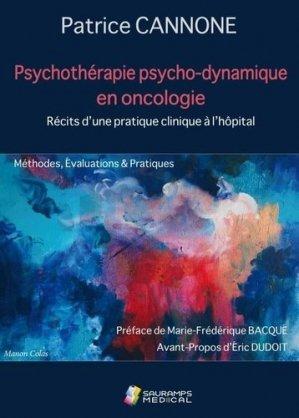 Psychothérapie psycho-dynamique en oncologie - sauramps médical - 9791030302615 -