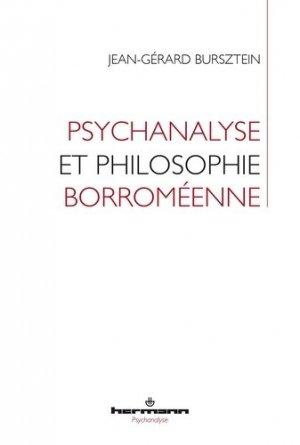 Psychanalyse et philosophie borroméenne - hermann - 9791037000743 -