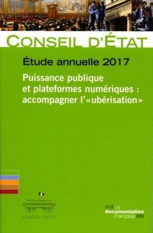 Puissance publique et plateformes numériques : accompagner l'