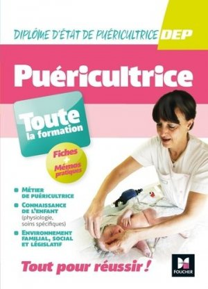 Puéricultrice toute la formation - foucher - 9782216154890 -