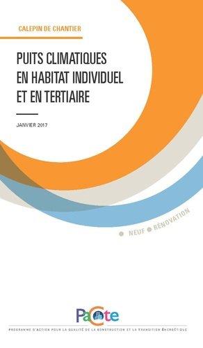 Puits climatiques en habitat individuel et en tertiaire - sebtp - 9782359171716 -