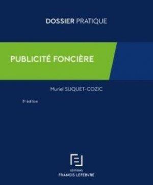Publicité foncière - francis lefebvre - 9782368935903 -