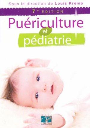 Puériculture et pédiatrie - lamarre - 9782757301098 -