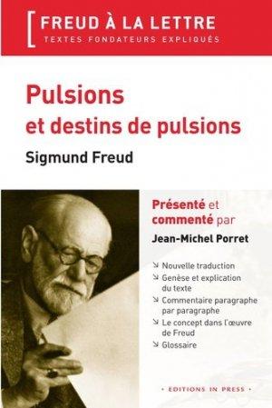 Pulsions et destins de pulsions - In Press - 9782848353401 -