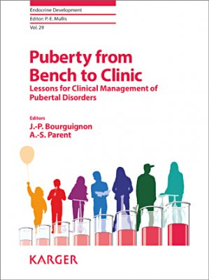 Puberty from Bench to Clinic - karger  - 9783318027884 -