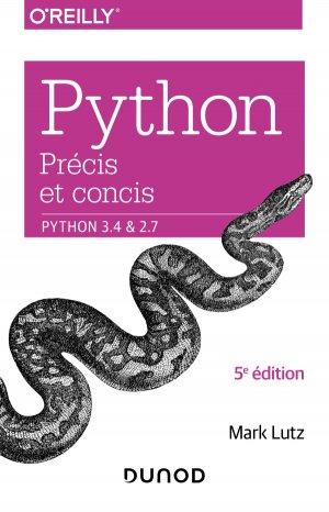 Python précis et concis - dunod - 9782100804832 -