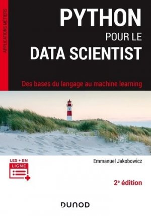 Python pour le data scientist - Dunod - 9782100812240 -
