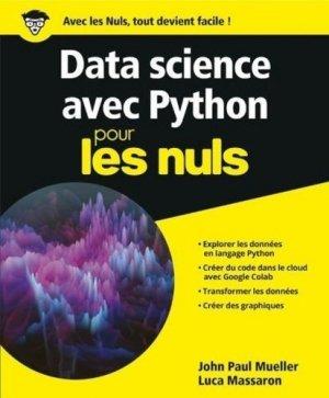 Python pour la data science pour les nuls - First - 9782412050729 -