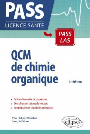 QCM de chimie organique UE1-UE spé pharma - ellipses - 9782340022447 -