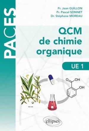 QCM de chimie organique UE1 - ellipses - 9782340035911 -