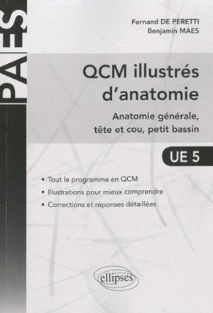 QCM illustrés d'anatomie - ellipses - 9782729863470 -