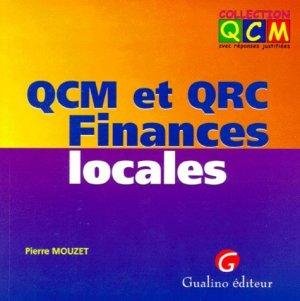 QCM et QCR Finances locales - gualino - 9782842003395 -